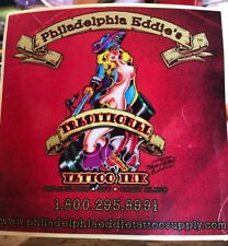 Philadelphia Eddie's Tattoo Ink Sticker Philadelphia NYC Coney Island Art Promo