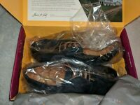 Samuel Hubbard Freedom Now - Midnight Blue Suede - Size: 8.5 Women's Shoes