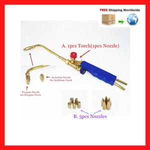 Soldering Welding Gas Brazing Torch H01-2 Oxygen Propane Acetylene Braze Weld