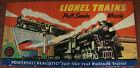 Rare 1948 Original Postwar Lionel 3' x 6' Puff Smoke Whistle Dealer Poster, VG