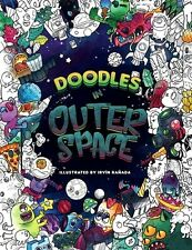 Doodles in Outer Space Adult Coloring Book Stress Relief Relax Universe Creative