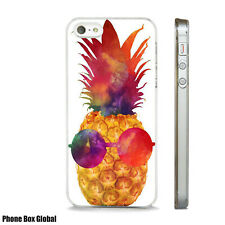 FUNKY PINEAPPLE ART SUMMER CASE FITS  IPHONE 4 4S 5 5S 5C 6 6S 7 8 SE PLUS X