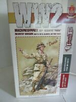 New 1/6 WW2 Italian (Davide)Twisting Toyz 3013,Machine Gunner El Alamein 1942.NR