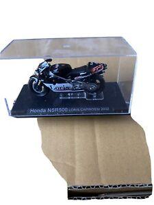 1/24 HONDA NSR500 Loris Capirossi 2002 Diecast Motorcycle Model IXO
