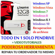 Pendrive 32 GB - PC REPAIR POWERFUL TOOLS for WINDOWS PC and LAPTOPS