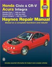 Haynes Honda CRV CR-V (97-01) EX LX se SUV Proprietari Manuale Servizio Riparazione Manuale