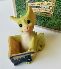 """""""Good News"""" Whimsical World of Pocket Dragons by Real Musgrave with Box"""