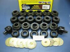 Body Tub Cab Mount Bushing Cushion Frame Kit Set 97-06 Jeep Wrangler TJ LJ 24107