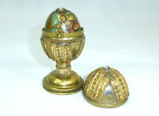 Egg holzei in the Brass Holder Ukraine/Russia Moses Russia