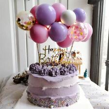 BALLOON CAKE TOPPER ROSE GOLD CONFETTI BRIDE PARTY BIRTHDAY WEDDING ARCH GARLAND