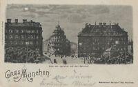 Ansichtskarte Jahr 1899 verschickt von München nach Reigersberg