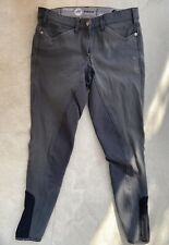 Pikeur Full Grip seat Womens Breeches jodhpurs Grey, Size 36 (GB 22) Size 8 26""