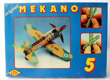 Rare Vintage 70'S Meccano Mekano Metal Constructions Plane Epa Greece Greek New!
