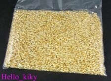 5000 pcs Gold plated rondelle crimp beads 2mm M125