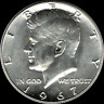 """A 1967 P Kennedy Half Dollar 40% SILVER """"Beautiful"""" US Mint Coin """"Uncirculated"""""""