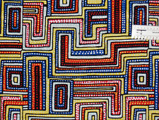 18,00€/m² => 25cmx110cm: Labyrinth Bunt - Alexander Henry, Patchworkstoff
