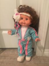 """1985 HONEYCOMB Doll -Vintage Panosh Place 17"""" doll - Complete outfit bin 24"""
