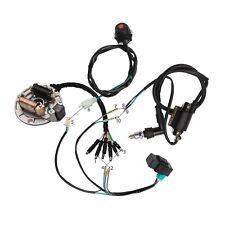 50 110cc 125cc Wiring WIRE HARNESS CDI COIL DIRT BIKE STATOR MAGNETO Lifan SSR