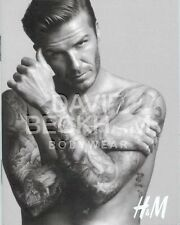 David Beckham BodyWear Soccer Football H&M Underwear Jockey Shorts Mini Catalog