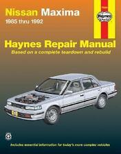 Nissan Maxima, 1985-1992 by John Haynes and Ken Freund (2000, Paperback)