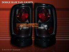 1994 - 2001 Dodge Ram 1500 2500 3500 Tail Lights Dark Smoke 95 96 97 98 99 00