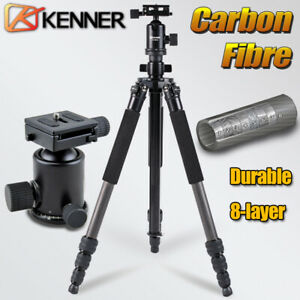 Kenner Professional CARBON FIBER TRIPOD with 360° BALL HEAD for DSLR CAMERA