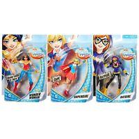 "DC Comics - DC Superhero Girls - 6"" Figures - Supergirl , Batgirl & Wonder Woman"