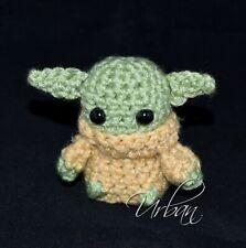 "Crochet Baby Yoda Doll The Mandalorian Inspired Star Wars Baby Yoda ""The Child"""
