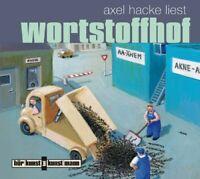 AXEL HACKE -  WORTSTOFFHOF  CD NEW