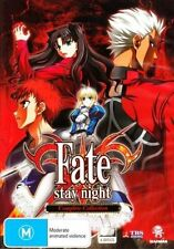 Fate Stay Night - Complete Collection 6 Discs DVD Mad
