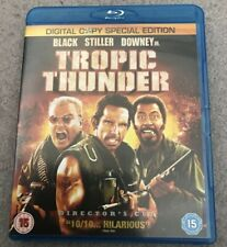 TROPIC THUNDER - BLU RAY - BEN STILLER