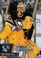 2015-16 Upper Deck Full Force Hockey #56 Marc-Andre Fleury Pittsburgh Penguins
