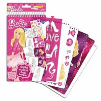 BARBIE Creative & Art Set Hours of Colouring and Sticker Fun