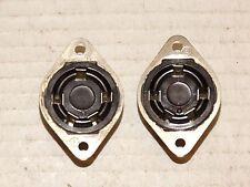 2-Vintage  Fe-Male Flush Mount Amphenol Plugs 5-pin, Leslie Hammond*Free S&H*