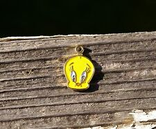 Tweety Bird Pendant Charm WB 94 Warner Bros. Brothers 1994 Canary 5/8""