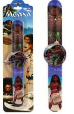 New 1PCS Movie Moana cartoon slap watches Baby Gift For Children wirst watch