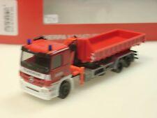 Herpa Mercedes Actros M Abrollmulde Feuerwehr Aachen - 306188 - 1/87