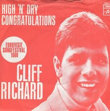 7inch CLIFF RICHARD congratulations HOLLAND 1968 EX/EX-  (S2533)