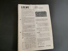 Original Service Manual LOEWE SDK 904