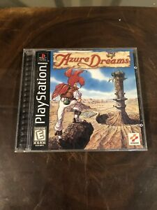 Azure Dreams PlayStation 1 Rare PS1 Complete CIB w/ Manual Tested Good