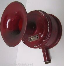 Antique Holtzer-Cabot Fire Alarm Siren Horn Bell architectural industrial safety