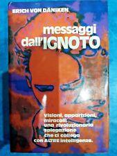Erich Von Daniken Messaggi dall'ignoto Club Ed. 1980