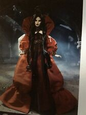 NRFB Haunted Beauty Vampire Barbie Doll Gold Label Collector With Shipper