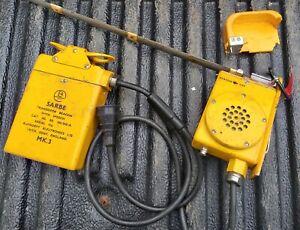 RAF Military Radio SABRE Transistor Beacon with Speech