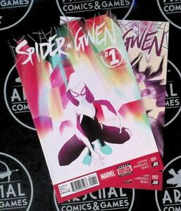 Spider Gwen Lot! #1 NM 9.4 2015 Marvel Comics Spider-Man Spiderverse