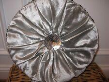 Waterford RICHMOND Round Tambourine deco pillow NWT