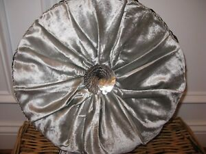 Waterford RICHMOND Round Tambourine deco pillow NWT
