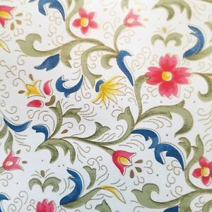 9ft Floral flower print decorative contact paper self adhesive shelf liner