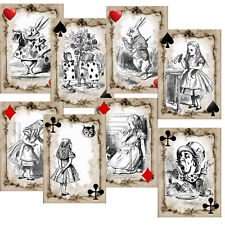Card Toppers Alice In wonderland/ Card making/Scrapbook/Paper Craft Supplies