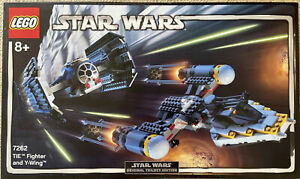 STAR WARS LEGO (7262) - TIE FIGHTER AND Y-WING - BRAND NEW! NISB!!